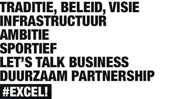 kort, krachtig, wervend taalgebruik in stevige lettertypes