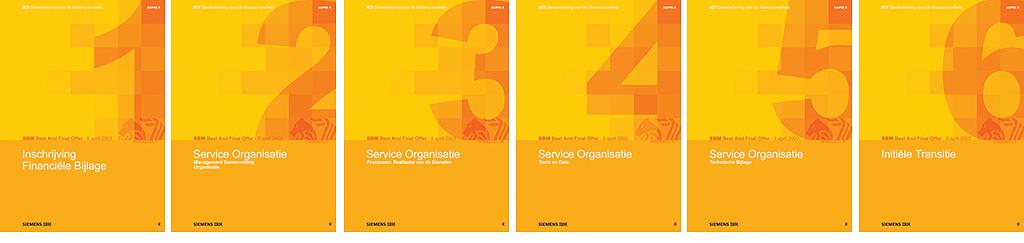 covers van de 6 bid books