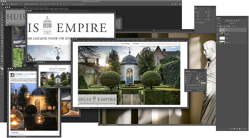 schermafbeelding workspace 'huis-empire'